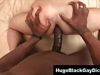 Huge cock and tight asshole